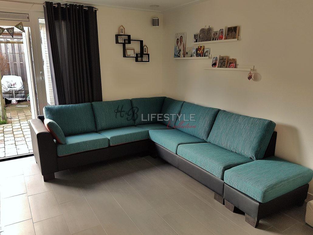 Bank op maat hb lifestyle collection - Ideeen kleuren lounge ...