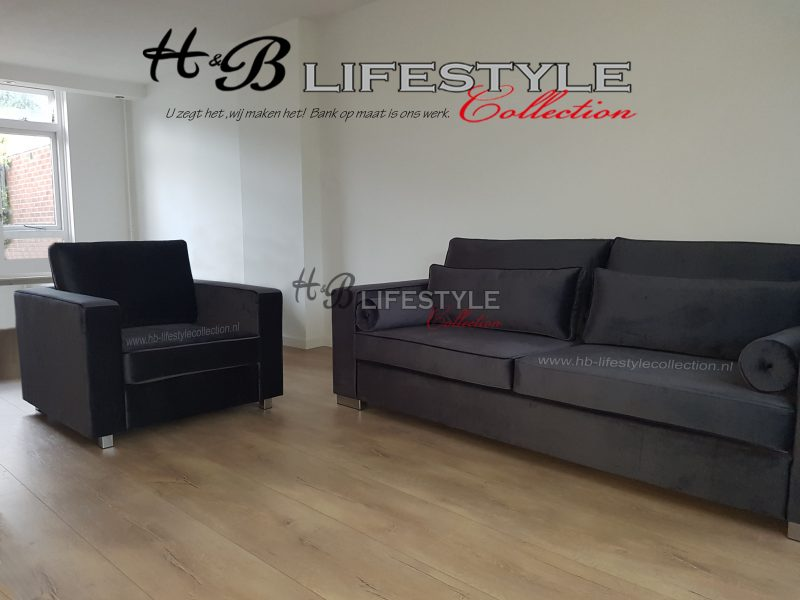 Fluwelen bank   HB Lifestyle Collection